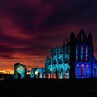 Whitby Abbey at Sunset by Lee Wilson