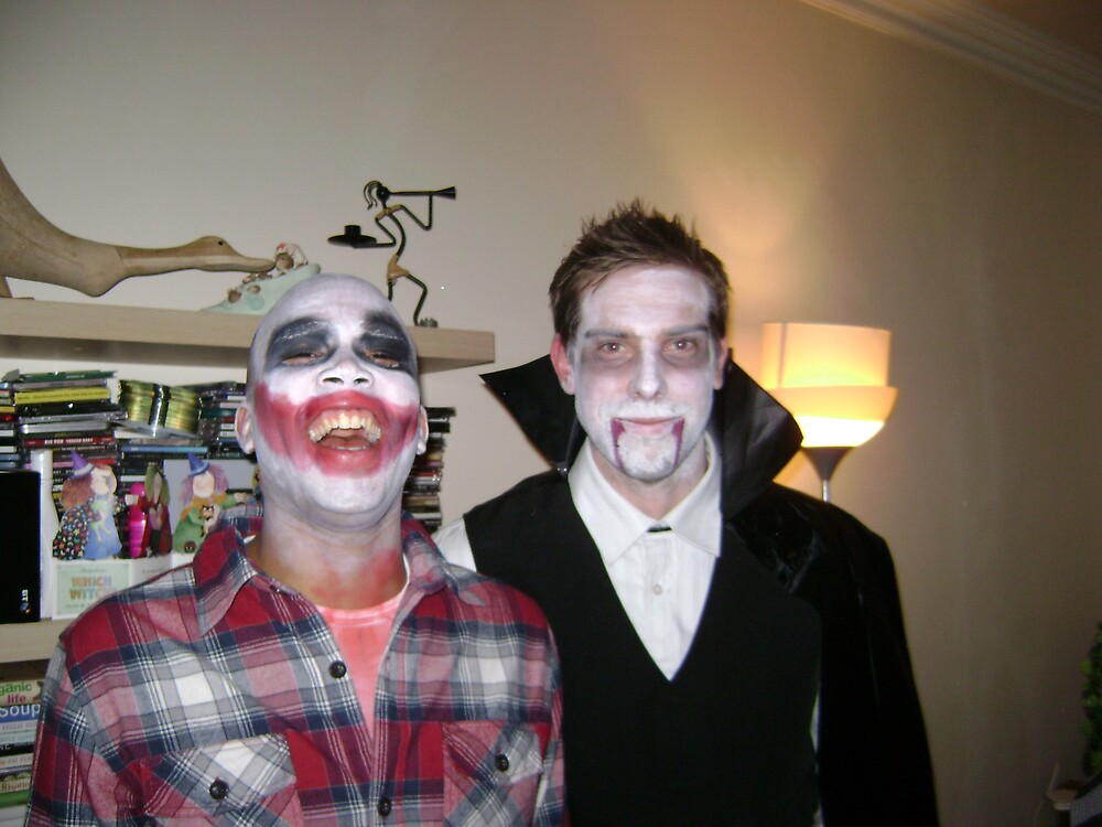 dracula and the joker by emant