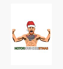 Notorious Christmas Photographic Print