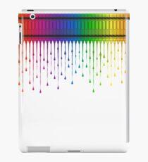 Melting Crayons iPad Case/Skin