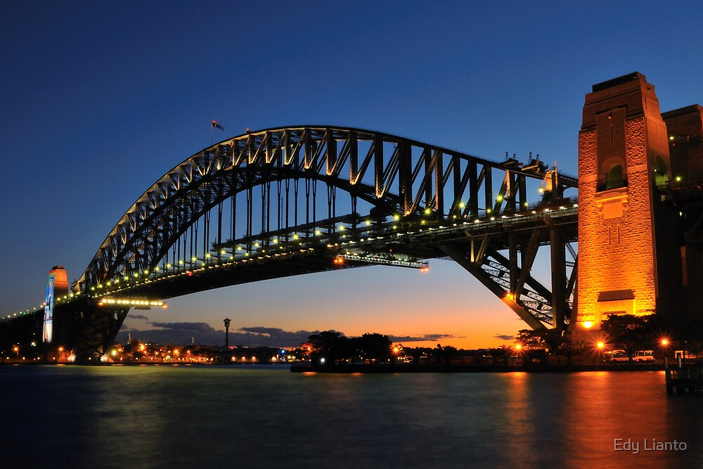 Harbour Bridge at Dusk by Edy Lianto