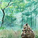 Mother Bear Hug by Lisbeth Thygesen