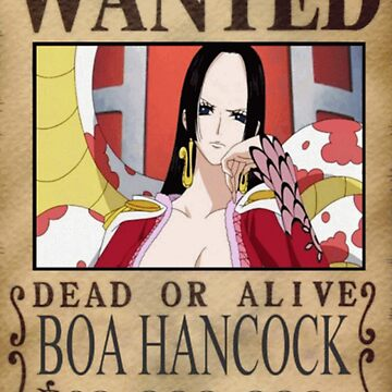 Wanted Boa Hancock - One Piece by yass-92