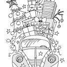 xmas beetle by kulawiecka