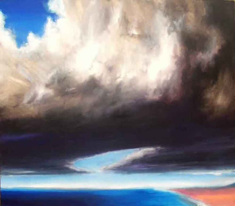 Now and that other now, then (oils) by pauldrobertson