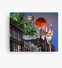 Cityscape Collage Canvas Print