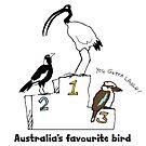 Australia's favourite bird by Matt Mawson