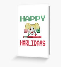 HAPPY HARLIDAYS Greeting Card