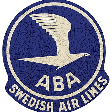 Vintage Swedish Airlines ABA by midcenturydave