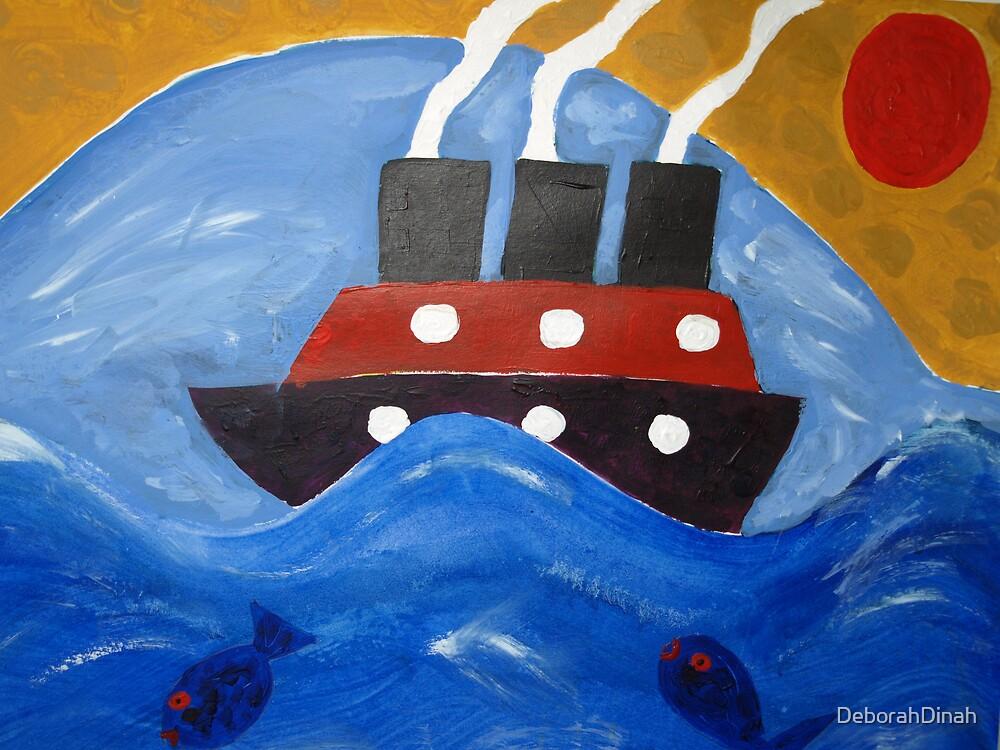On the HIgh Seas by DeborahDinah