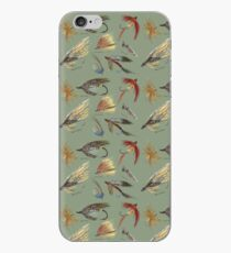 Fly Fishing with Hand Tied flies! iPhone Case