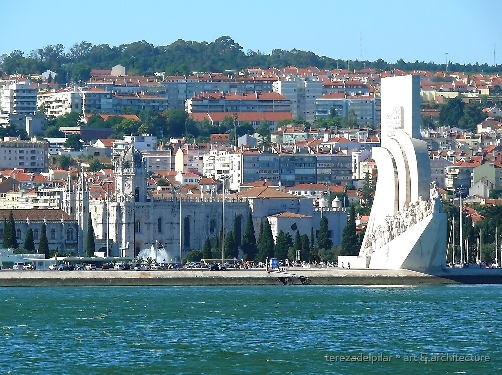Monument to Portuguese Discoveries and Jerónimos Monastery by terezadelpilar ~ art & architecture
