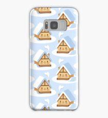 Cute alpine chalet Samsung Galaxy Case/Skin