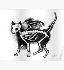 Devil Kitty Poster