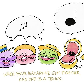 When Four Macarons Get Together... by katkuo