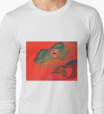 Panther Chameleon Long Sleeve T-Shirt