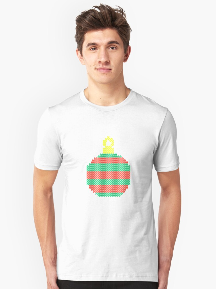 Christmas icon Unisex T-Shirt Front