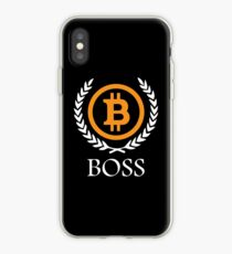 Bitcoin Boss iPhone Case
