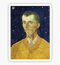 Vincent Van Gogh - Portrait of Eugene Boch. Sticker