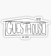 GuestHouse House Logo Sticker