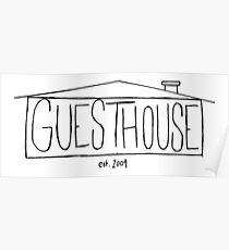 GuestHouse House Logo Poster