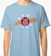 Vintage Pigs in Space Classic T-Shirt