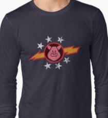 Vintage Pigs in Space Long Sleeve T-Shirt