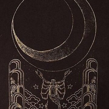 La Lune by thegreatmuda