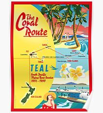 The Coral Route  Poster