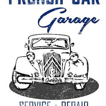 french car garage by GusiStyle
