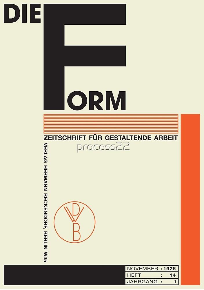 Bauhaus#1 by process22