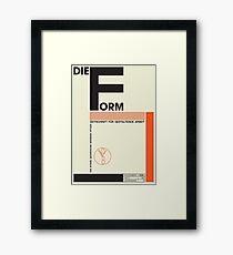 Bauhaus#1 Framed Art Print