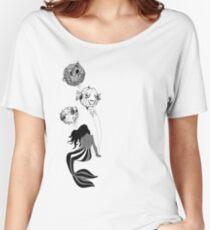 Circus Mermaid & Balloon Fish Women's Relaxed Fit T-Shirt