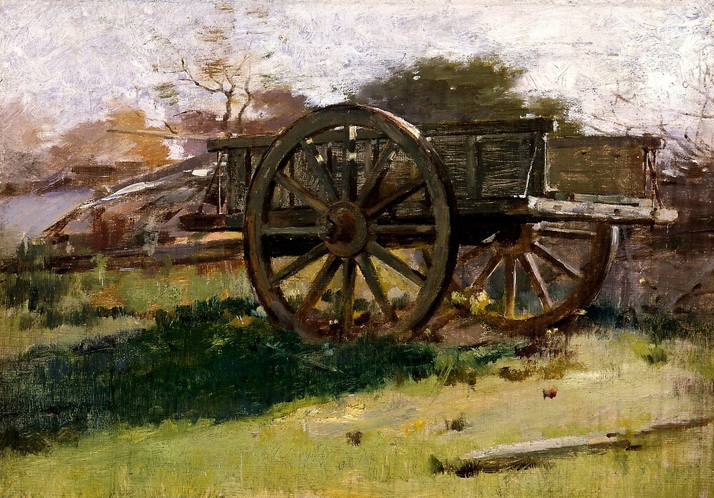 Cart, Nantucket by Theodore Robinson by classicartcache
