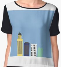 Lincoln Skyline Chiffon Top