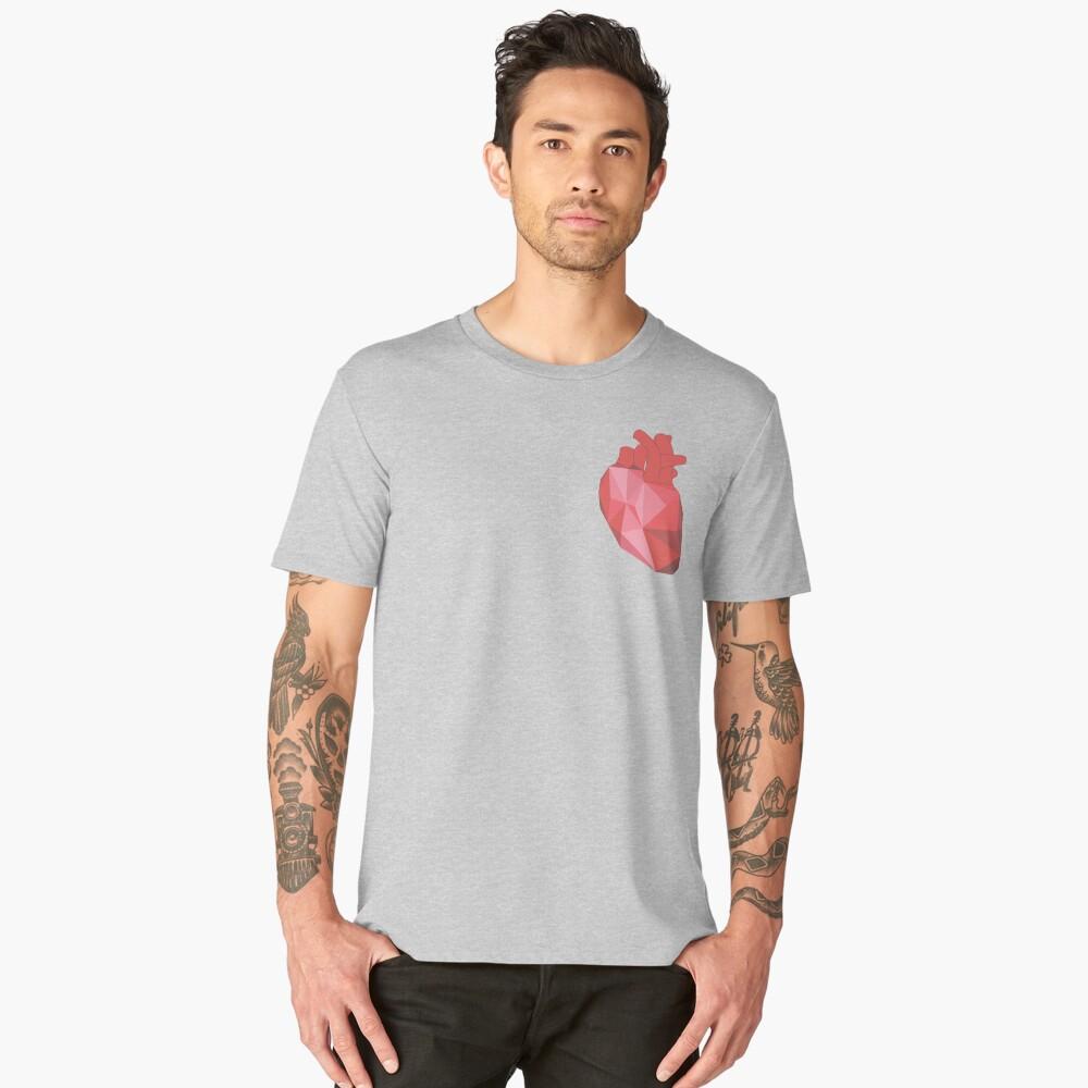 I Heart  Men's Premium T-Shirt Front