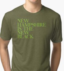 New Hampshire Is The New Black Best Trending Tri-blend T-Shirt