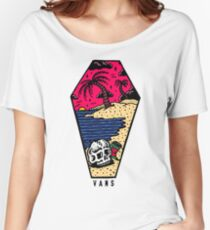 Vans Beach Sunset Women's Relaxed Fit T-Shirt