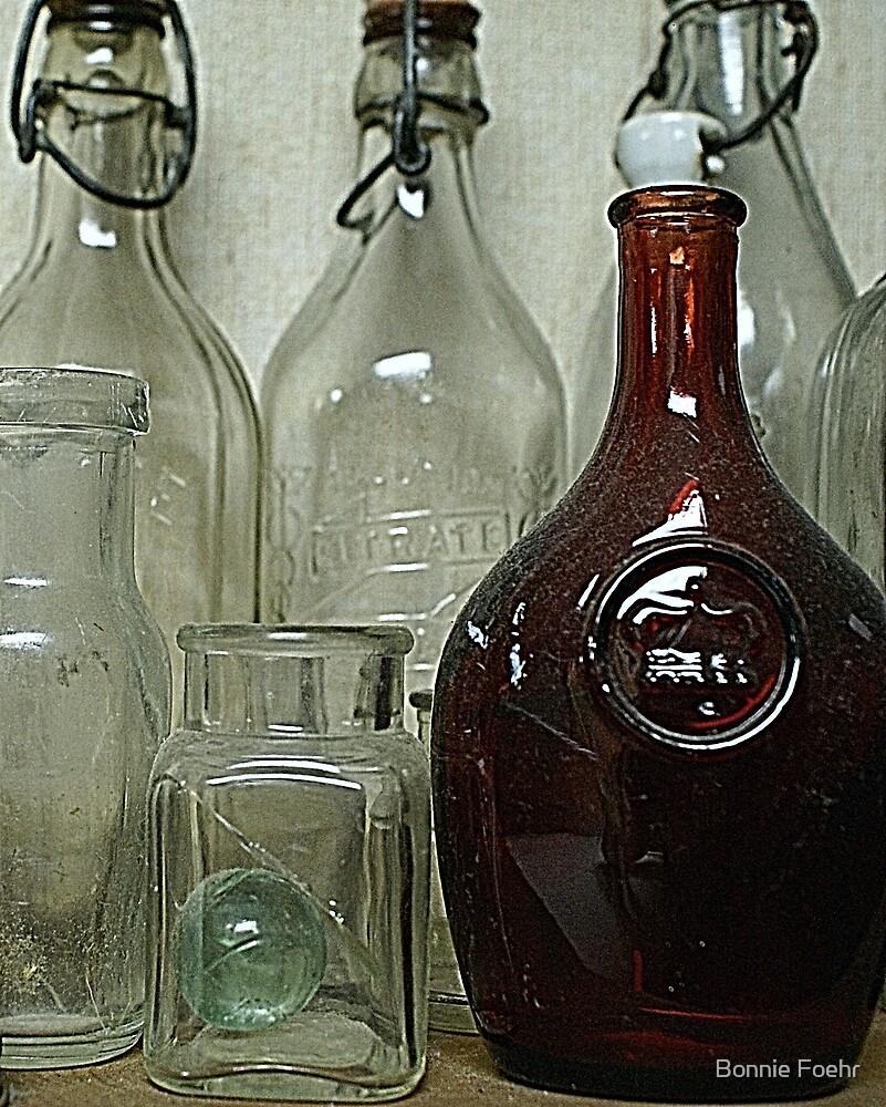 bottles by Bonnie Foehr