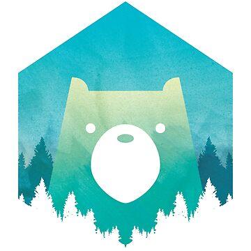 Bear Woods by Isondiel