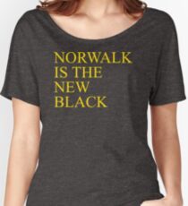 Norwalk CA Is The New Black Best Product Women's Relaxed Fit T-Shirt