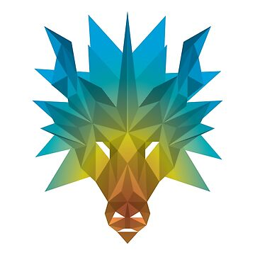 Chromatic Dragon by Isondiel