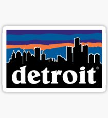 Detroitagonia Sticker