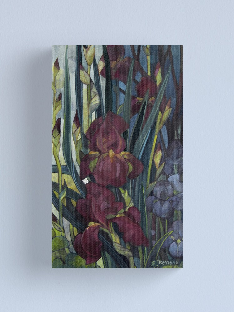 Alternate view of iris Canvas Print