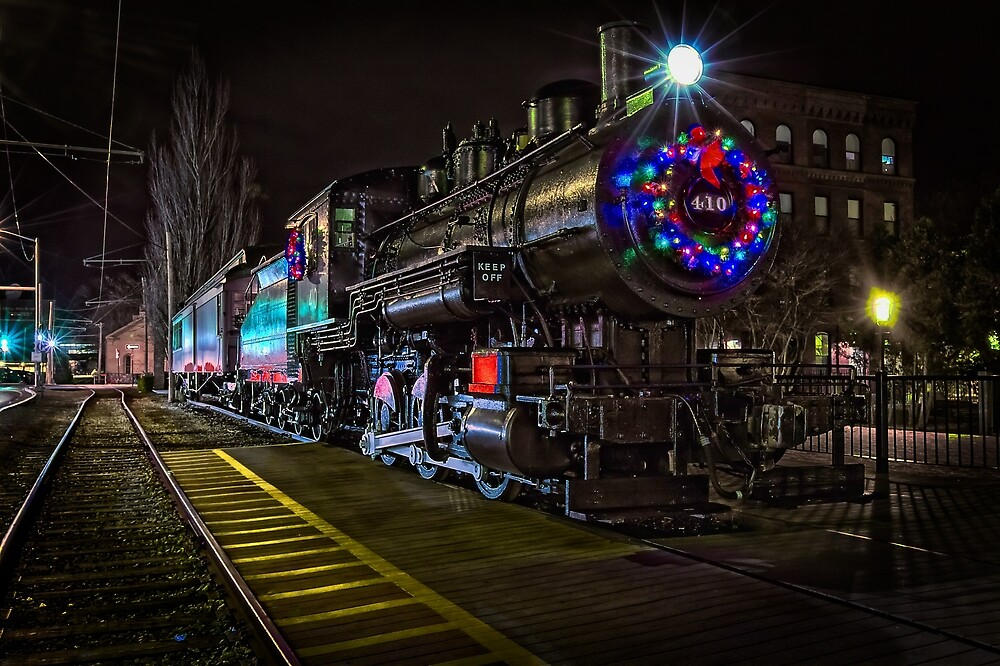 Lowell MA, Decorative Train by Larry Richardson