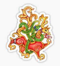 Lion of Jellinge - watercolor Sticker