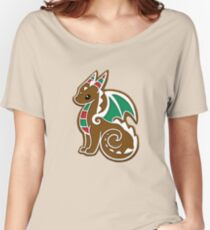 Gingerbread Dragon Women's Relaxed Fit T-Shirt