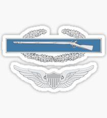 Combat Infantry Badge Aviation Sticker