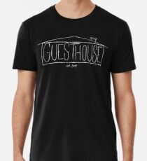 GuestHouse House Logo (White) Premium T-Shirt