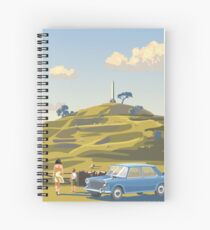One Tree Hill, Auckland Spiral Notebook